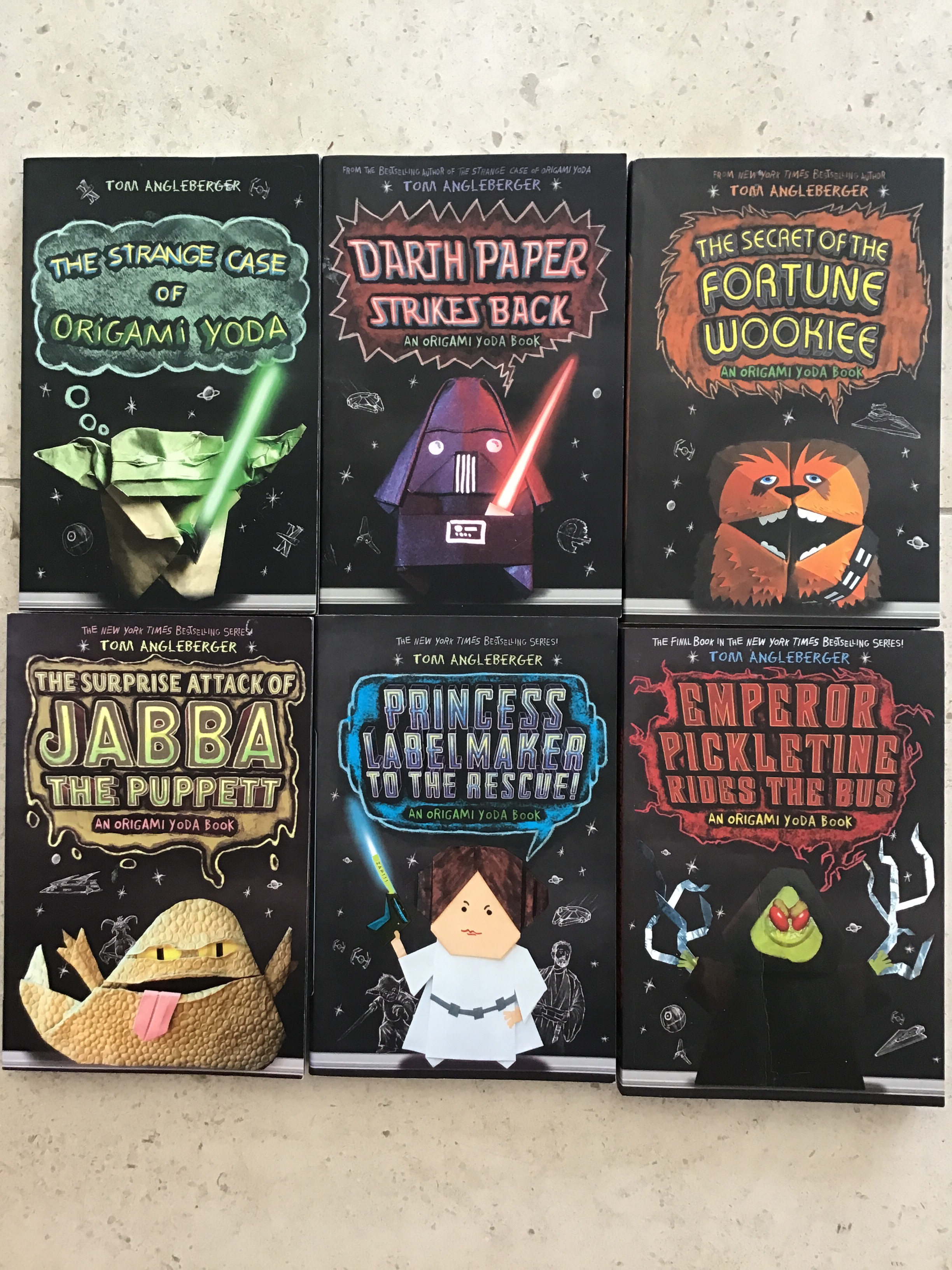 First Pages: The Strange Case of Origami Yoda — Dr. Bookworm | 3264x2448